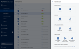 Acronis Backup for Server screenshot