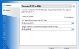 Convert PST to EML for Outlook screenshot